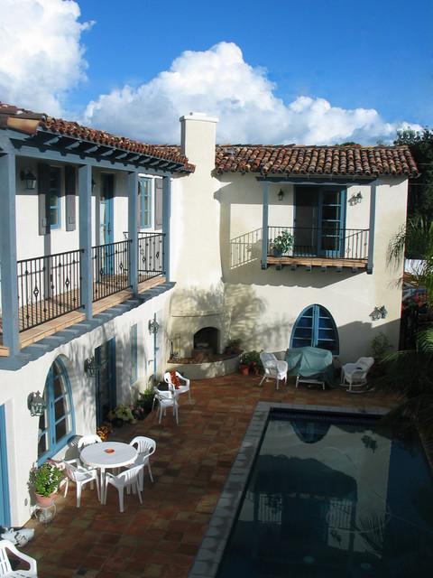 Spanish Colonial Style Homes  Mediterranean  Patio  San
