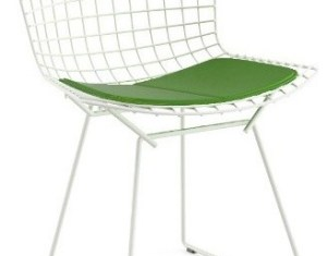 Outdoor Bertoia Side Chair With Cushion Yliving