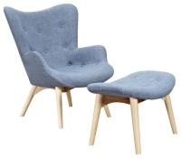 Shenzhen Co Ludo Midcentury Modern Upholstered Lounge ...