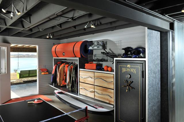 Norwalk IA  Basement Room  Beach Style  Basement