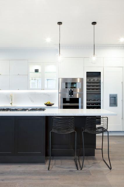 The Block 2016 Julia Amp Sasha Contemporary Kitchen Melbourne By Freedom Kitchens