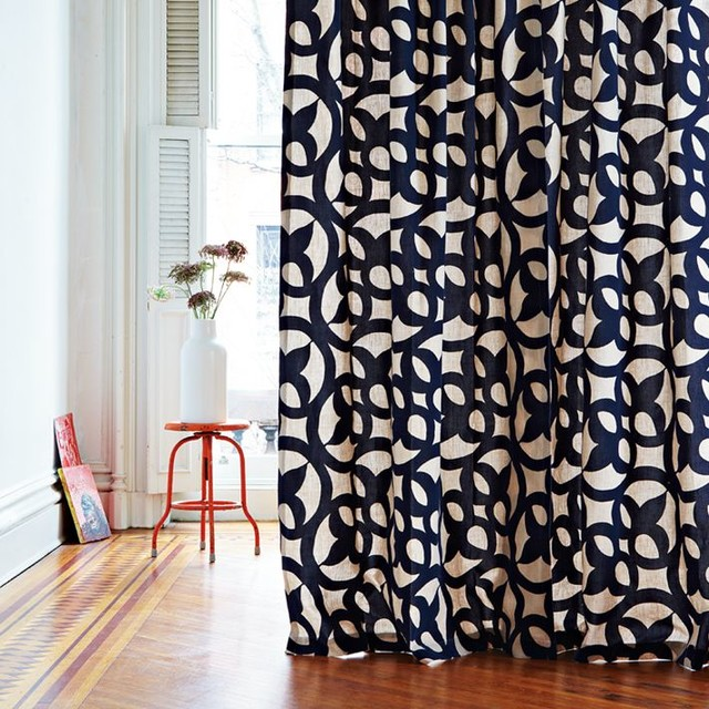 Navy And White Curtain Panels BestCurtains