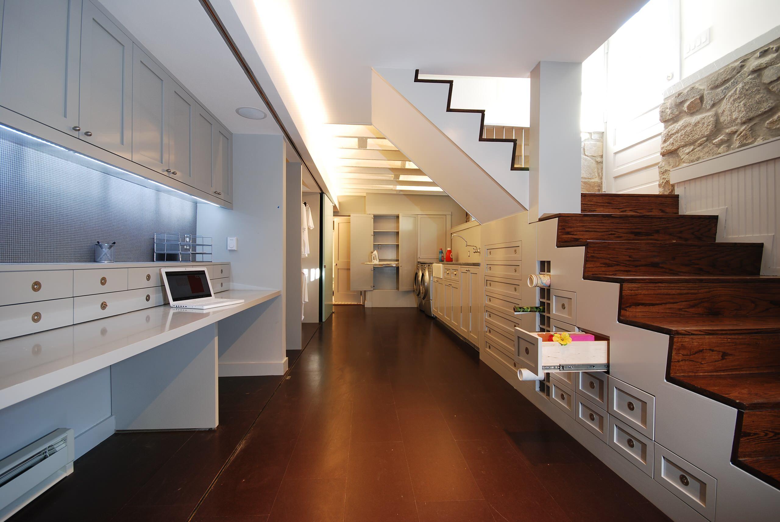 Open Stair To Basement Houzz