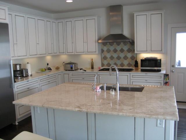 ikea kitchen countertop glass cabinets island: cristallo quartzite