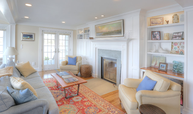 Beach Cottage Living Room Start City Homes Design