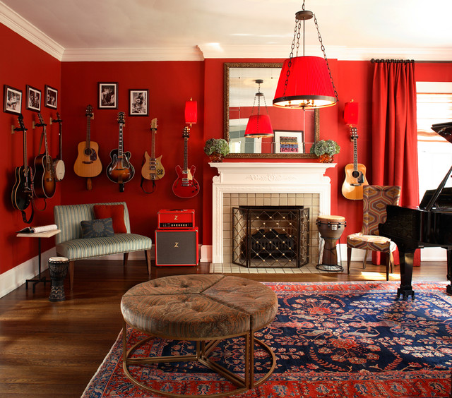 red rug living room ideas diy wall decor the meaning of color