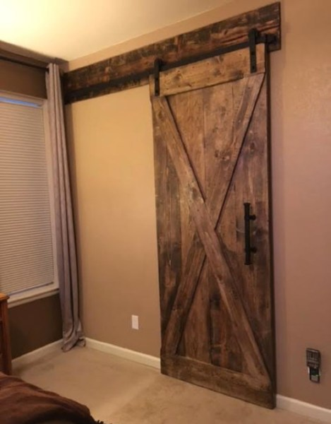 rustic bedroom closet doors Sliding Barn Doors for Bedroom - Rustic - denver - by Custom Sliding Barn Doors