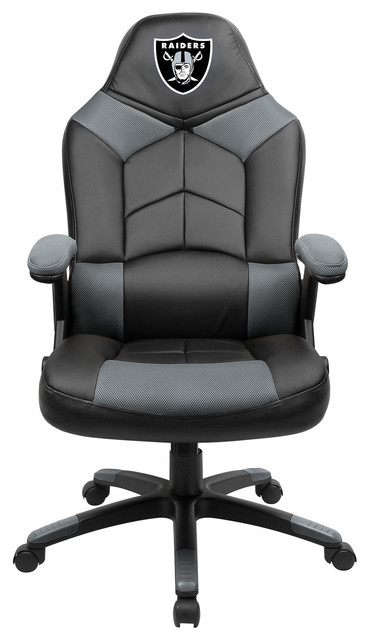 oakland raiders chair ergonomic dimensions oversized gaming contemporary chairs by imperial international