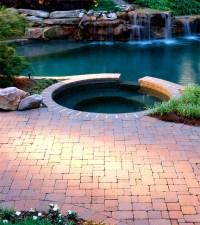 Beautiful Backyard Pool Deck Design