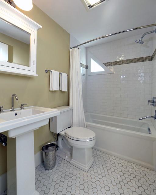 Small Beach House Lives Big Beach Style Bathroom Boston By