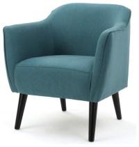 Tresten Fabric Mid Century Modern Arm Chair - Contemporary ...