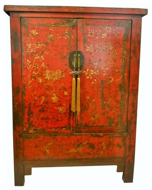 tommy bahama living room fifth wheel with front consigned chinese antique red wedding chest golden ...