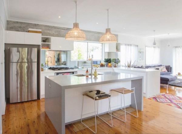 scandinavian white kitchen Gorgeous White Kitchen - Scandinavian - Kitchen - Other - by Granite Transformations