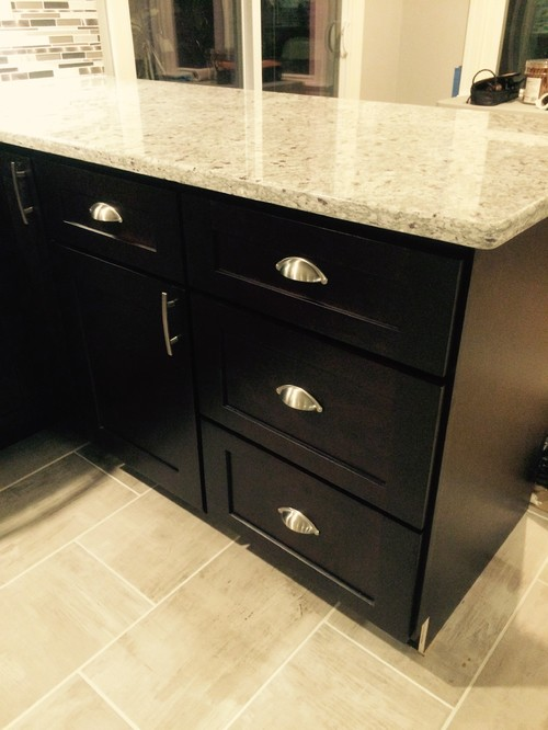 inexpensive kitchen tables tuscan island shaker espresso rta cabinets done by lily ann