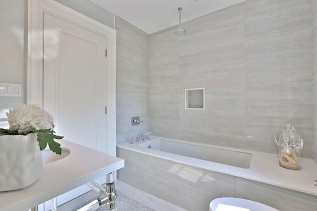 Tivoli Series Transitional Bathroom Toronto By Cercan Tile Inc