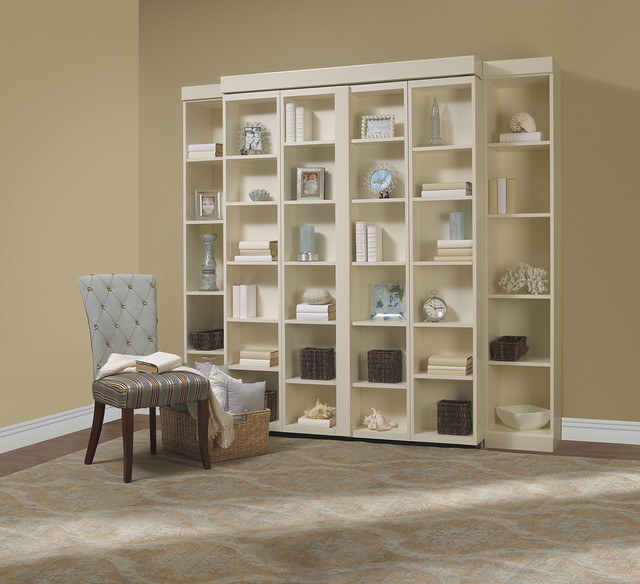 Madison Bifold Bookcase Bed Contemporary Bedroom