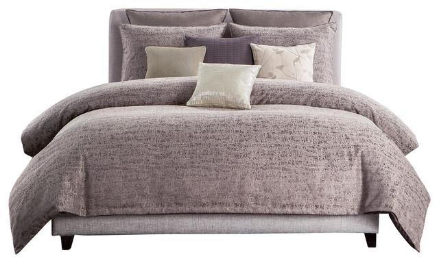 driftwood comforter set plum king