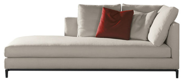 white sofa living room designs cool colors for paint minotti andersen slim chaise lounge - modern by switch ...