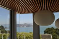 Bonelli glass stair enclosure, open corner - Modern ...