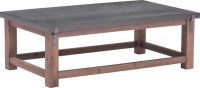 Greenpoint Coffee Table Gray and Distressed Fir ...