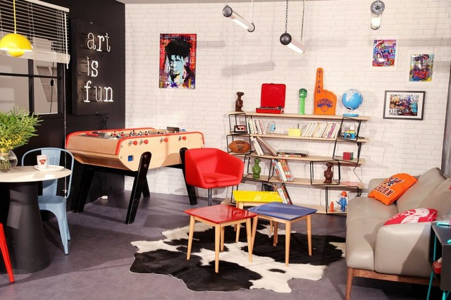 80 S Living Room Salon 80 S Eclectic Living Room Montreal By Sandra Dages Interior Designer Houzz Au