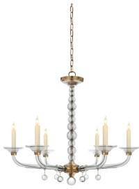 Crystal Stacked Ball Chandelier - Contemporary ...