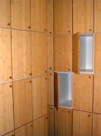 Bamboo Lockers - Contemporary - Closet - san francisco ...