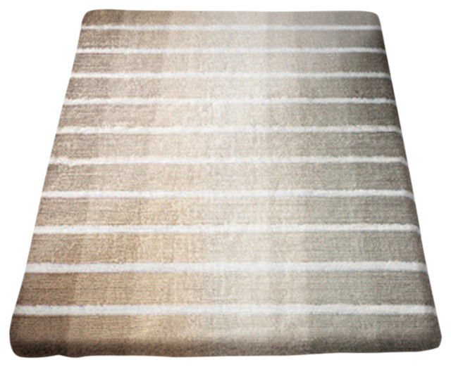 Taupe Cotton Bathroom Rug, Rio  View In Your Room! Houzz