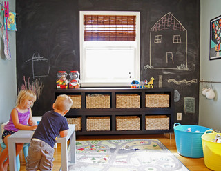 transitional kids - 17+ Seriously Clever Ways to Use Chalkboard to Organize Your Home