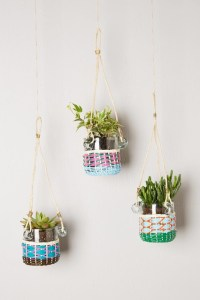 Lupine Hanging Planter - Contemporary - Indoor Pots And ...