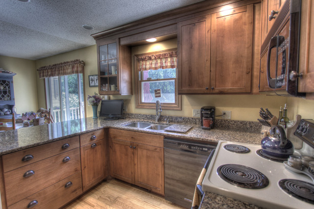 rustic country kitchen rustic