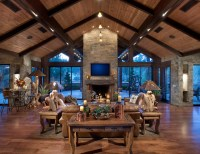 Northern Exposure // Great Room - Rustic - Living Room ...