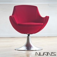 Dupont Swivel Lounge Chair | Nuans - Modern - Indoor ...