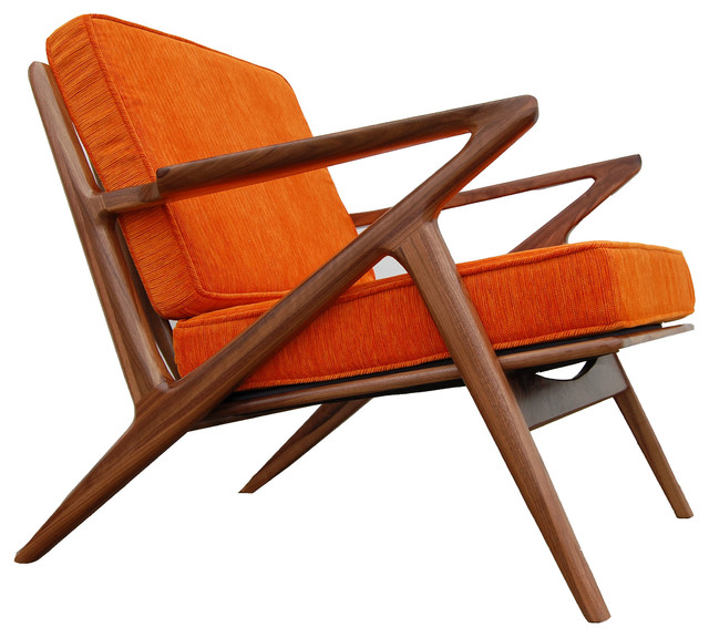 folding z chair office chairs home depot williamsburg walnut midcentury armchairs and accent by bowery grand