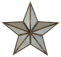 Shop Houzz | Large Silver Metal Mirror Star Wall Art Home ...