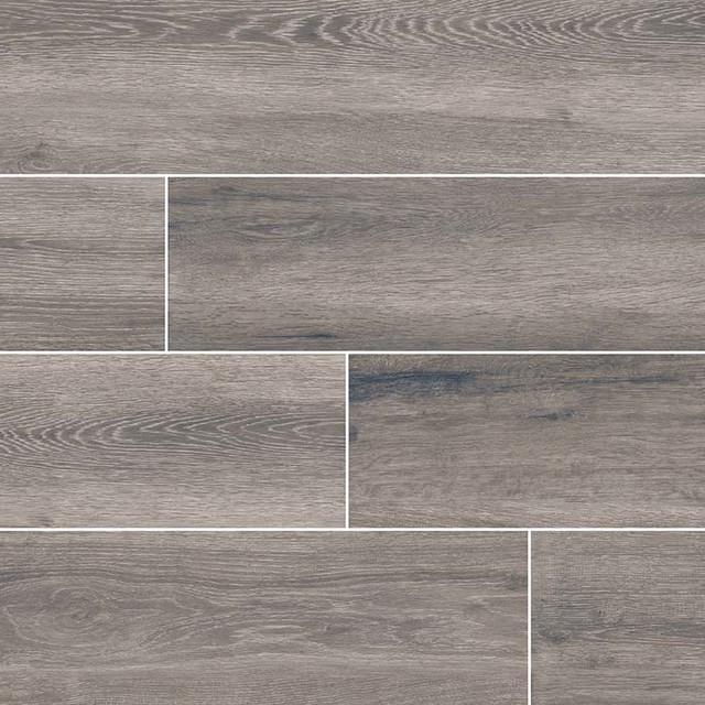 antoni gris 6x36 matte wood look porcelain tile sample