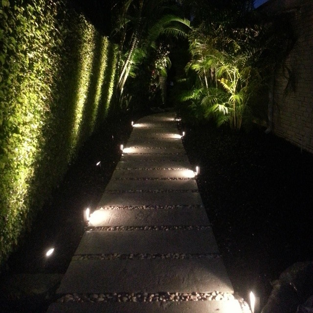 LED MODERN LOW PROFILE ACCENT PATH LIGHTING Modern Miami By Miami Landscape Lighting