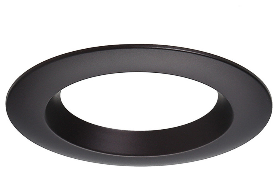 4 pack oil rubbed bronze round recessed light trim