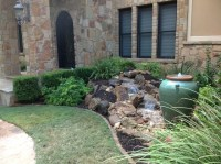 Christa's Front Yard Waterfall and Bubbling Urn Water ...