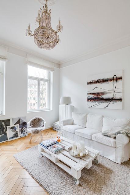 Altbau  modern in Kln  Skandinavisch  Wohnzimmer  Kln  von Sven Fennema Fotografie