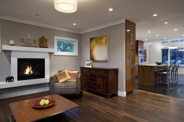 Best Builders ltd  Contemporary  Living Room  Vancouver