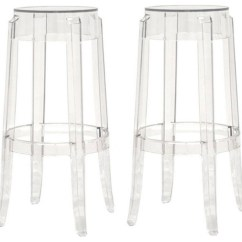 Ghost Bar Chair First Table And Sets For Toddlers Clear Stools Set Of 2 Contemporary Counter By Interiortradefurniture