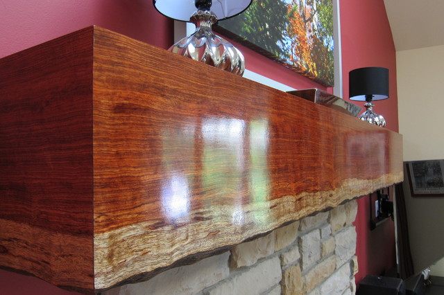 decorating a living room with fireplace and tv designer walls for custom live edge mantel - transitional family ...