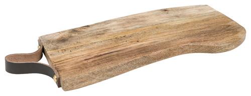"Brunch Cutting Board, Brown, 14.4""x 0.8"""