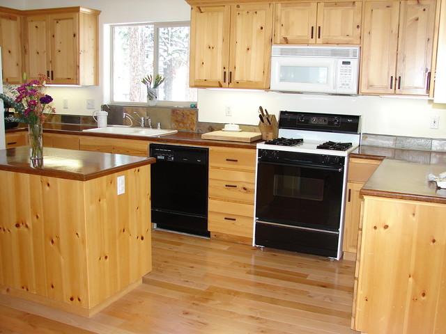Knotty Pine Kitchen  Traditional  Kitchen  San Francisco  by Joseph Woodworks