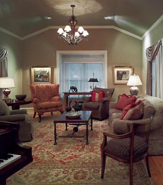 Century Old Farmhouse Traditional Family Room