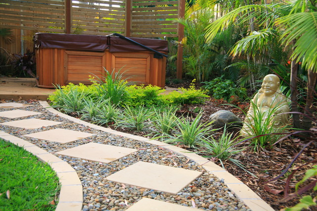 Balinese Style Garden Design Asian Landscape Sydney By