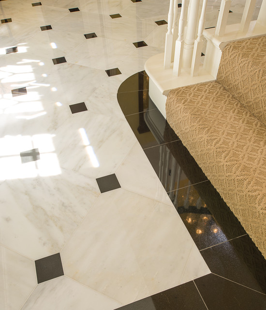 marble foyer american traditional