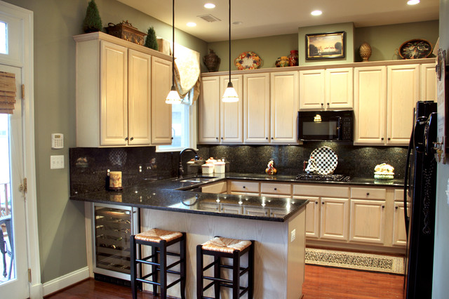 Capitol Hill Row House Traditional Kitchen DC Metro By
