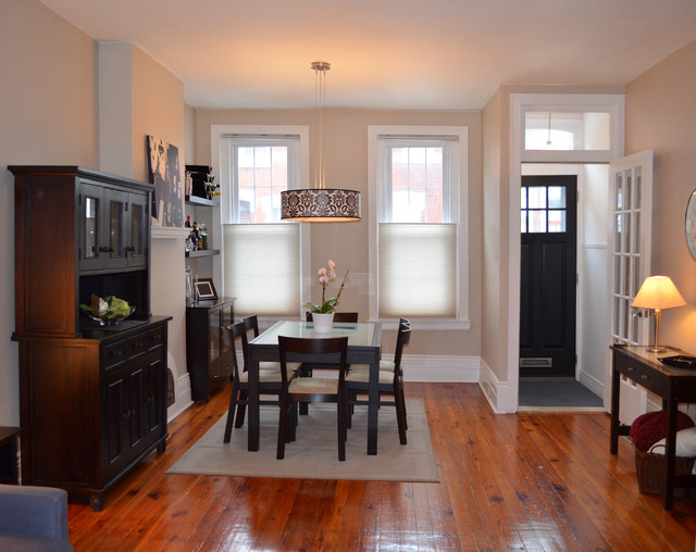 Baltimore Row Home Interior Design